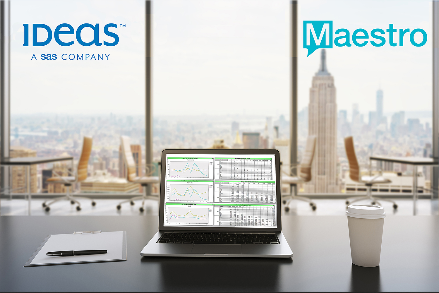 ideas 1 - Maestro PMS – IDeaS G3 RMS Interface Delivers Marked Increase in Revenue to Hotel Operators - Innovative Property Management Software Solutions Powering Hotels, Resorts & Multi‑Property Groups.