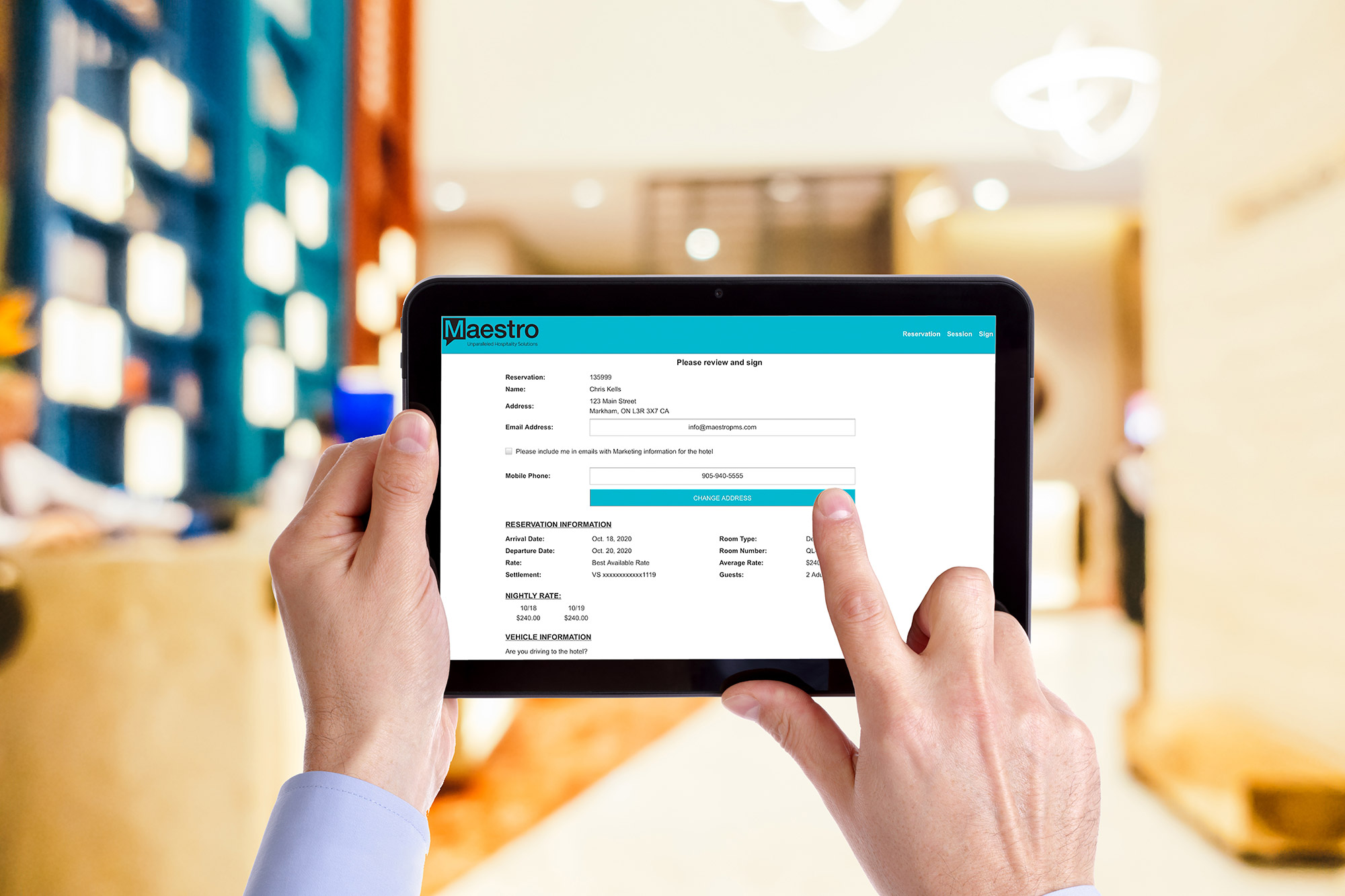 maestro header - Maestro PMS Adds Frontline User Focused Native Tablet Version to Complement Its Web and Windows Solutions - Innovative Property Management Software Solutions Powering Hotels, Resorts & Multi‑Property Groups.